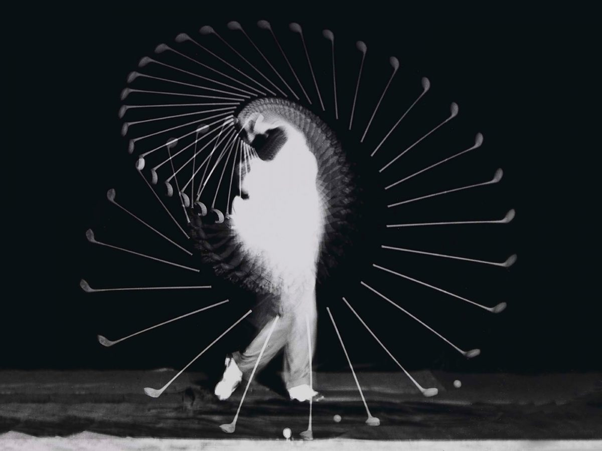 Harold E. Edgerton, Bobby Jones Golf Swing, 1939